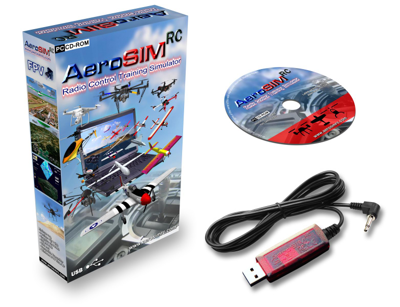 AeroSIM-RC - Drone Simulator - Flight Simulator for Remotely