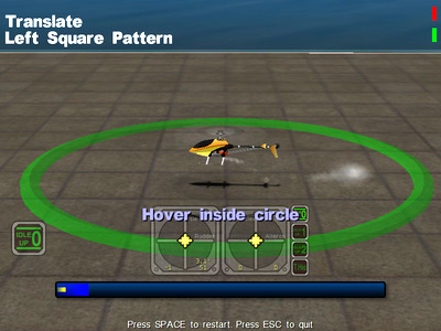 Helicopter course: Hover