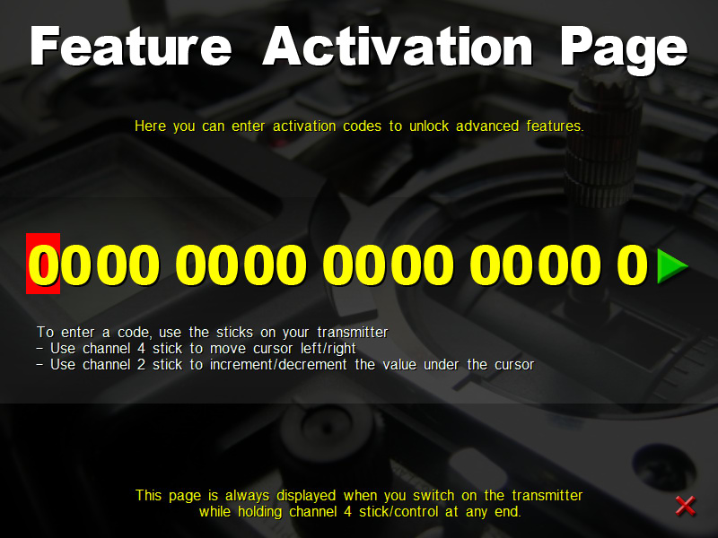 Feature Activation